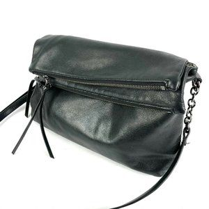 Margot Mickey Crossbody Bag Black Soft Leather